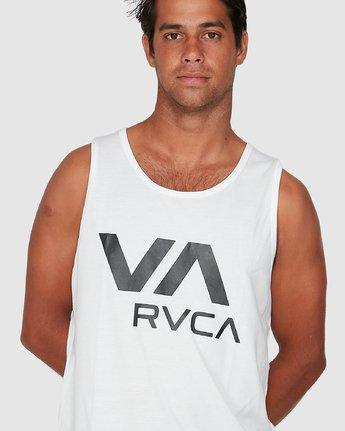 3 Va Rvca Tank Top White R305007 RVCA
