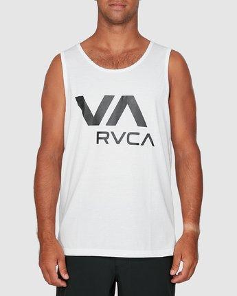 0 Va Rvca Tank Top White R305007 RVCA