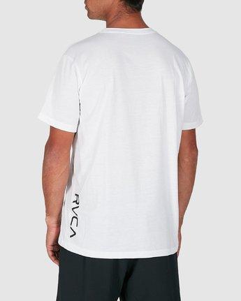 3 Va Rvca Short Sleeve Tee White R305050 RVCA