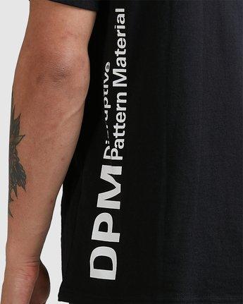 4 Dpm Pocket Tee Black R305052 RVCA