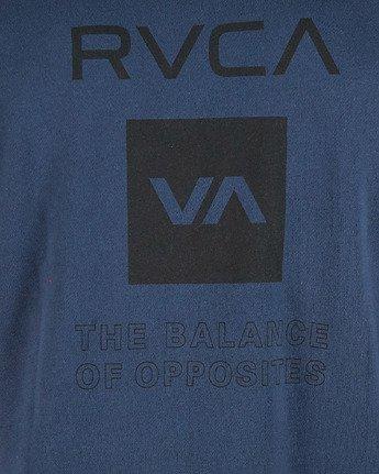 5 Sport Graphic Crew Jumper Blue R305156 RVCA