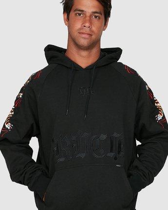 4 Tiger Krak Fleece Black R305157 RVCA