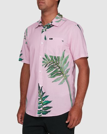 2 ROZICH SHORT SLEEVE TOP Pink R305181 RVCA