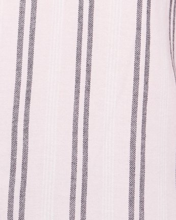 5 DISPLACED STRIPE SHORT SLEEVE TOP Pink R305189 RVCA