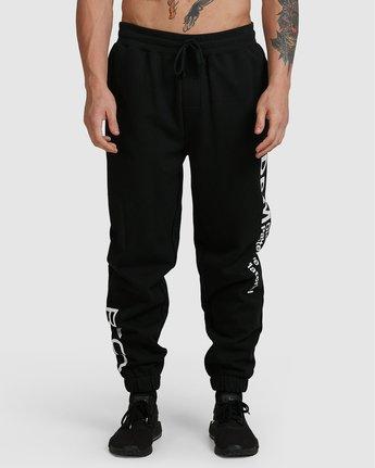 1 Dpm Fleece Pant Black R305284 RVCA