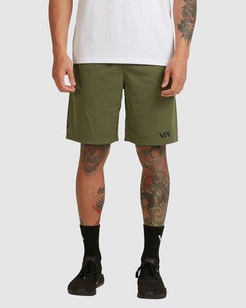 1 Va Mesh Short Green R305311 RVCA