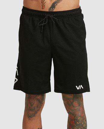 1 VA MESH SHORTS Black R305311 RVCA