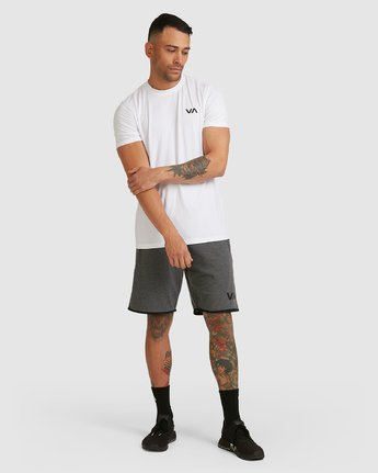 9 Sport Short IV Grey R305314 RVCA