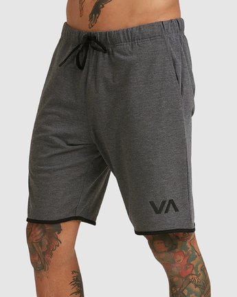 6 Sport Short IV Grey R305314 RVCA