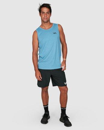 5 Sport Vent Sleeveless Top Blue R307001 RVCA