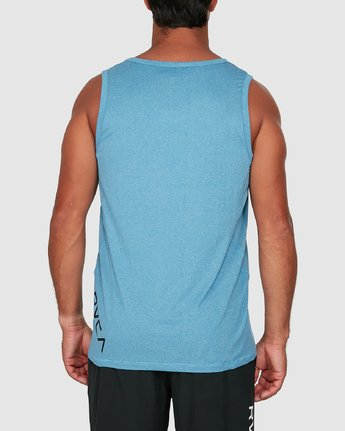 2 Sport Vent Sleeveless Top Blue R307001 RVCA