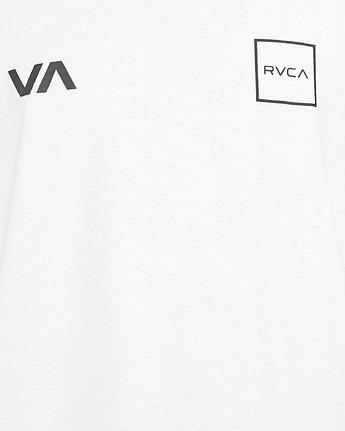 5 RVCA Lane Tank White R307002 RVCA