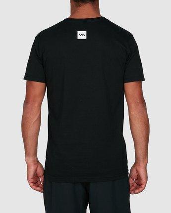 3 Sport Balance Box Short Sleeve Tee Black R307049 RVCA