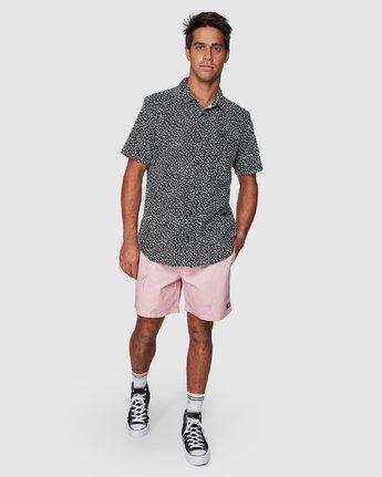 5 Presidio Short Sleeve Shirt Black R307190 RVCA
