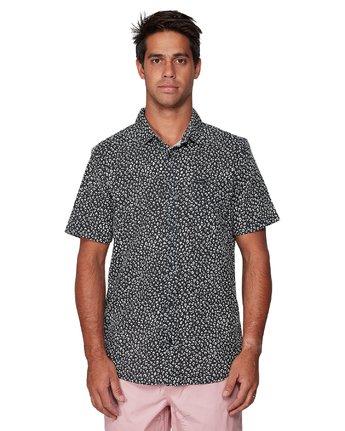 1 Presidio Short Sleeve Shirt Black R307190 RVCA