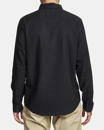 2 Thatll Do Stretch Long Sleeve Shirt Black R307194 RVCA