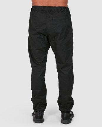 2 SPECTRUM CUFFED PANTS Black R307276 RVCA