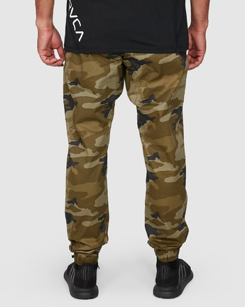 5 SPECTRUM CUFFED PANTS Green R307276 RVCA