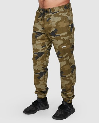 0 SPECTRUM CUFFED PANTS Green R307276 RVCA