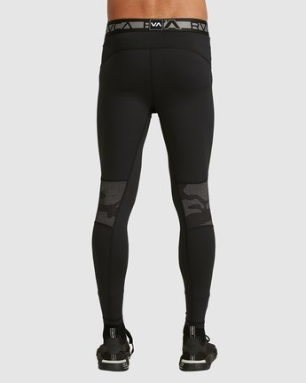 5 Compression Pant Black R307278 RVCA