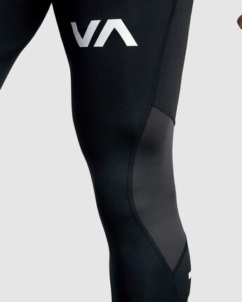 8 Compression Pant Black R307278 RVCA