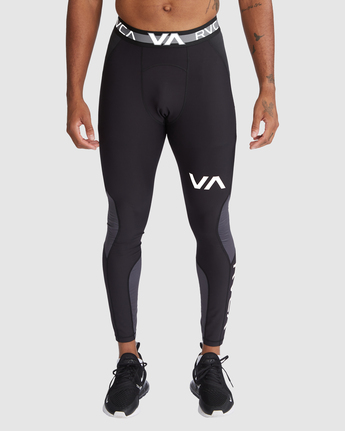 0 Compression Pant Black R307278 RVCA