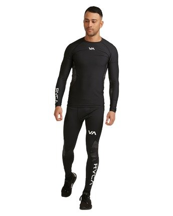 3 Compression Pant Black R307278 RVCA