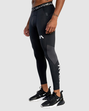 6 Compression Pant Black R307278 RVCA