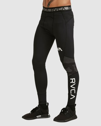7 Compression Pant Black R307278 RVCA