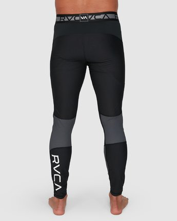11 Compression Pant Black R307278 RVCA