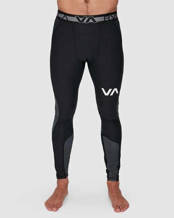 9 Compression Pant Black R307278 RVCA