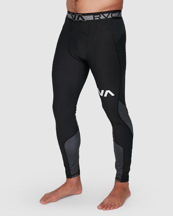 12 Compression Pant Black R307278 RVCA