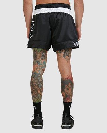 1 Rvca Muay Thai Short Black R307312 RVCA