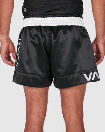 5 RVCA MUAY THAI SHORTS Black R307312 RVCA