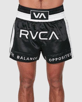 1 RVCA MUAY THAI SHORTS Black R307312 RVCA