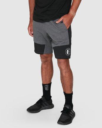 9 Hybrid Shorts Grey R307316 RVCA