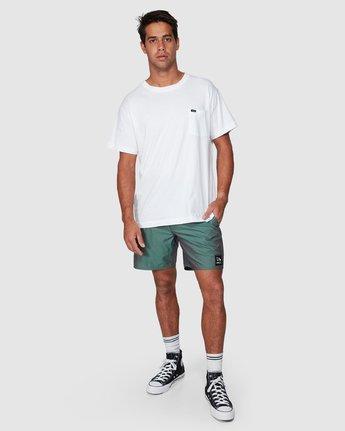 9 Hazed Elastic Shorts  R307400 RVCA