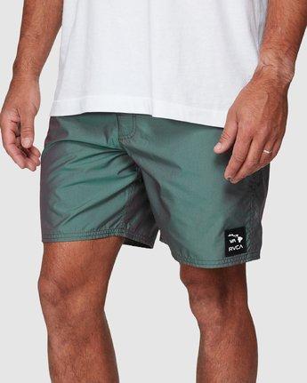 3 Hazed Elastic Shorts  R307400 RVCA