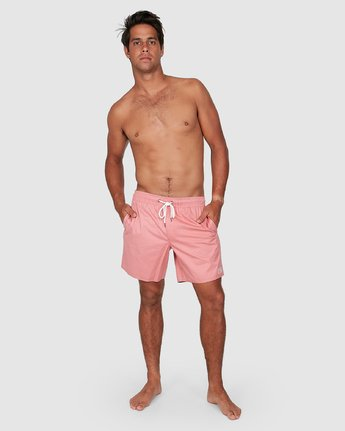 11 OPPOSITES ELASTIC 2 Pink R307401 RVCA
