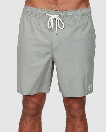 RVCA Mens Opposites Elastic Short