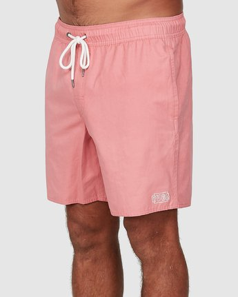1 OPPOSITES ELASTIC 2 Pink R307401 RVCA