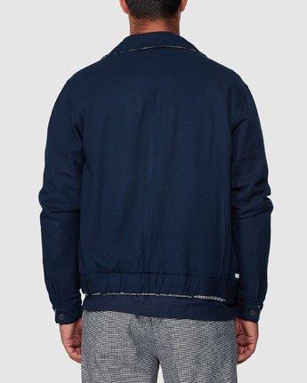 3 Hi-Grade Reverse Jacket Black R307433 RVCA