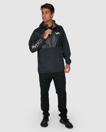 8 Utility Anorak Jacket Black R307435 RVCA