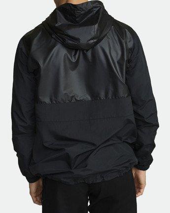4 Utility Anorak Jacket Black R307435 RVCA