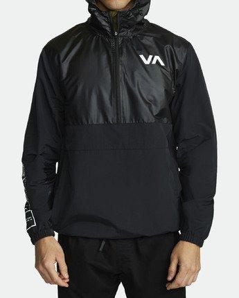 2 Utility Anorak Jacket Black R307435 RVCA