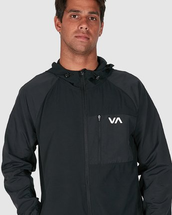 5 YOGGER JACKET Black R307437 RVCA