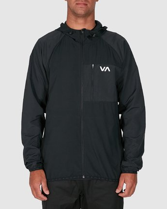 1 YOGGER JACKET Black R307437 RVCA