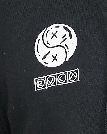 6 Bullet Proof Fleece Black R308151 RVCA