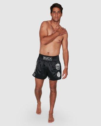10 Ortiz Muay Thai Shorts Black R308311 RVCA