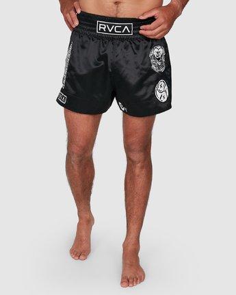 9 Ortiz Muay Thai Shorts Black R308311 RVCA